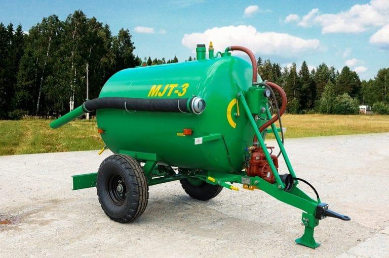 Машина для внесения жидких органических удобрений МЖТ-3 с обработкой внутренней поверхности