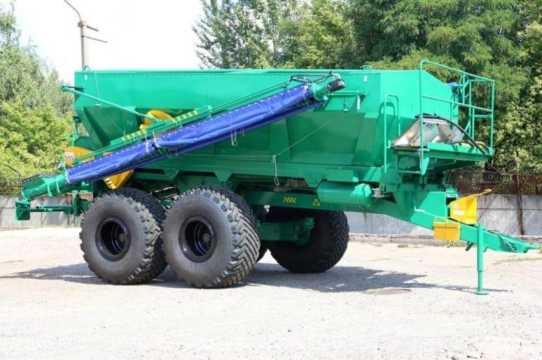 Машина для внесения пылевидных химмелиорантов МШХ-9