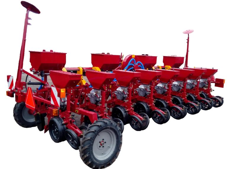 Сеялка СТВ8ДУ (8 посевных секций, дисковый сошник, оборудование для внесения удобрений) класс трактора 2.0