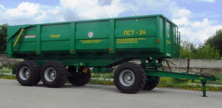 Полуприцеп тракторный ПСТ-24