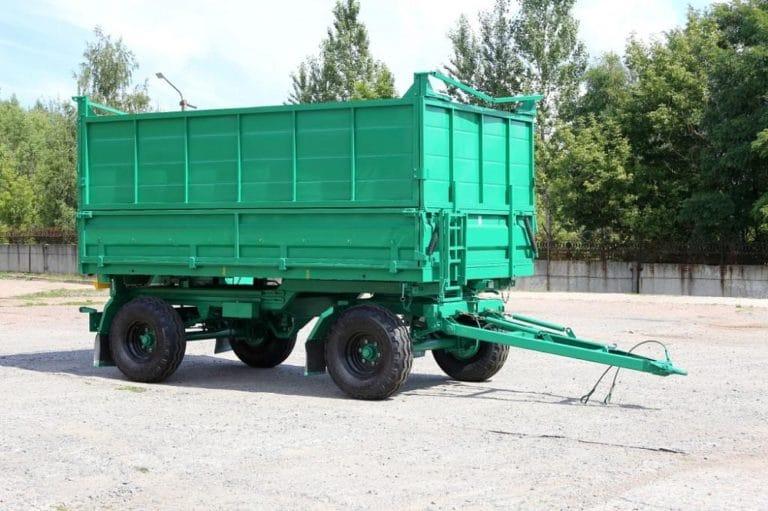Прицеп самосвальный тракторный 2ПТС-6-2