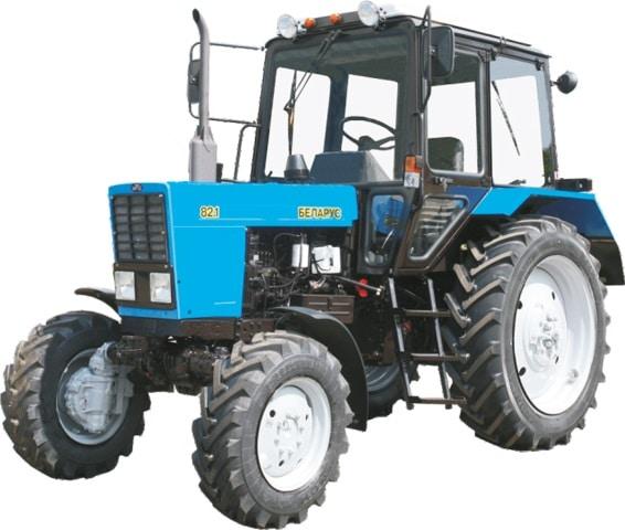 Трактор Беларус 82.1 – 50 в пластике