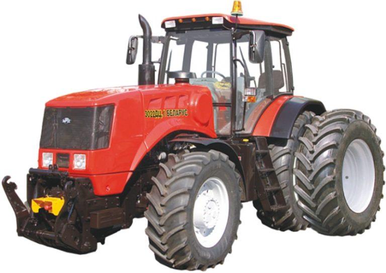 Трактор Беларус 3022ДЦ.1-46/461-000 (ПНУ и ВОМ, перед грузы 1300 кг)